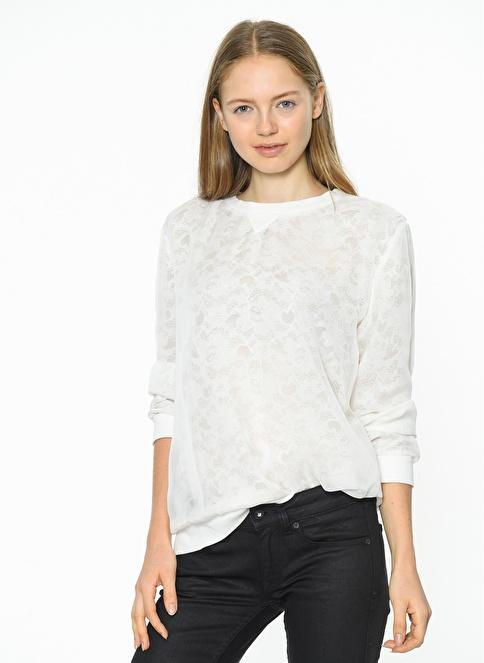 Tommy Hilfiger Bluz Beyaz